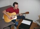 Äänityssessio toista levyä varten 25-28.03.2005